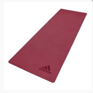 ✨New Adidas Fitness Premium Yoga Mat 5mm Ruby Red✨
